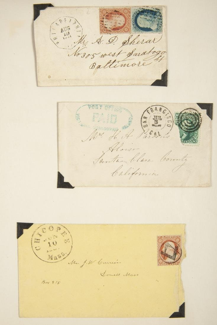 15 19th Century U.S. Covers - 7