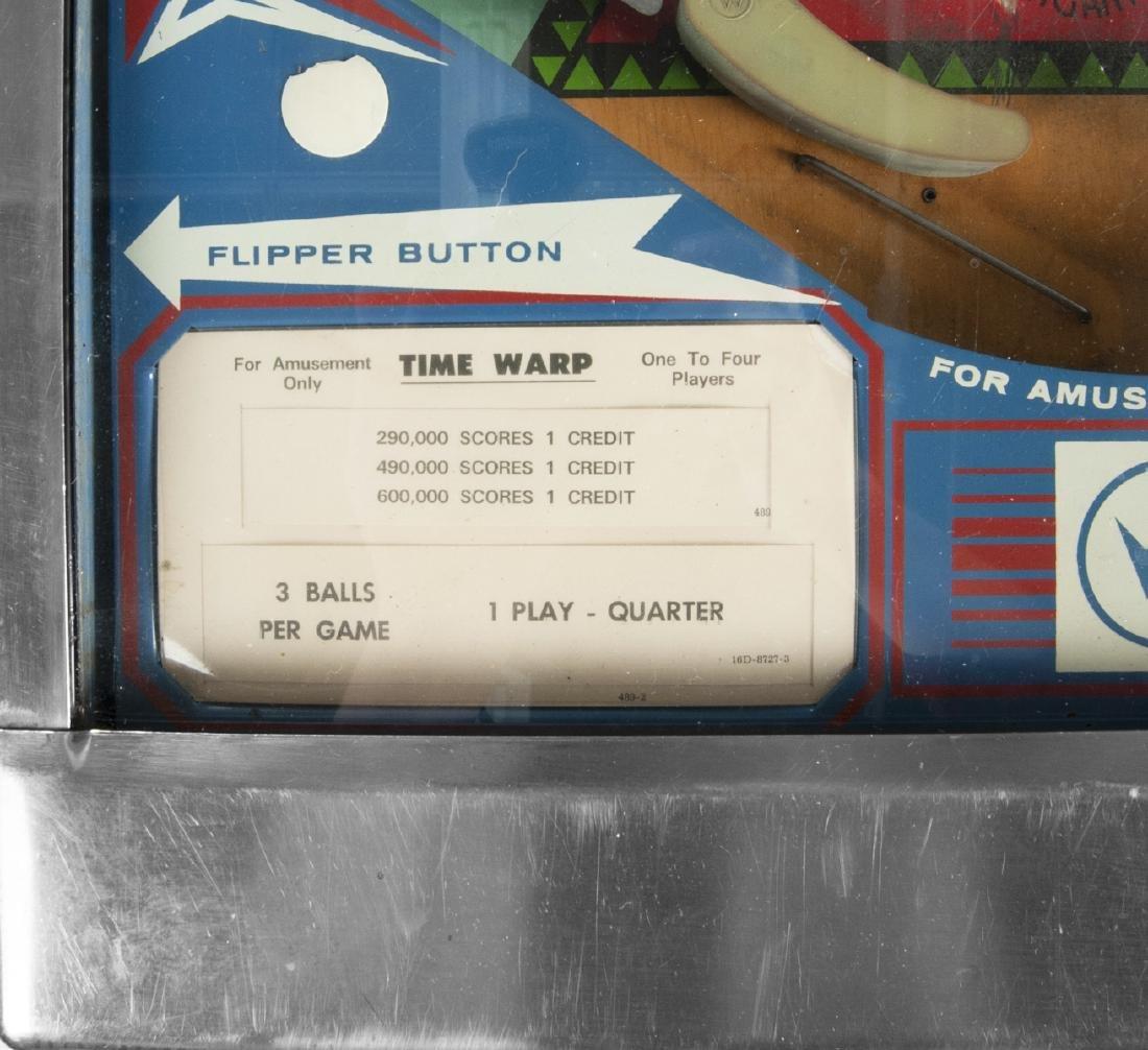 Williams Time Warp Pinball Machine - 10