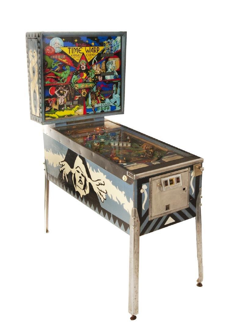 Williams Time Warp Pinball Machine