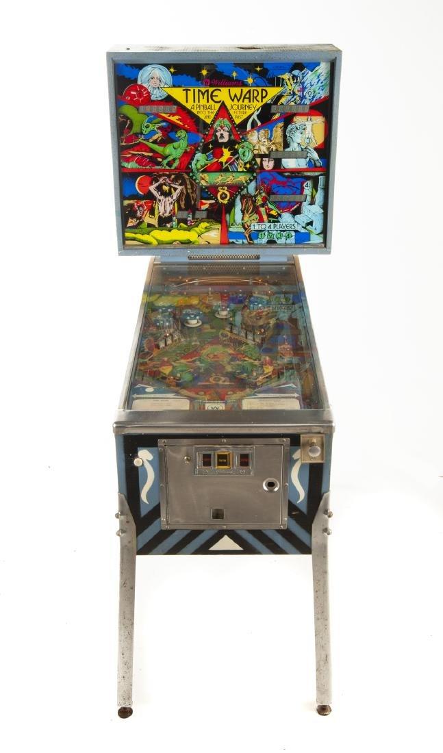Williams Time Warp Pinball Machine - 3