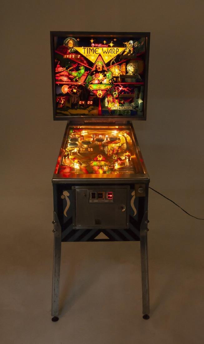 Williams Time Warp Pinball Machine - 4