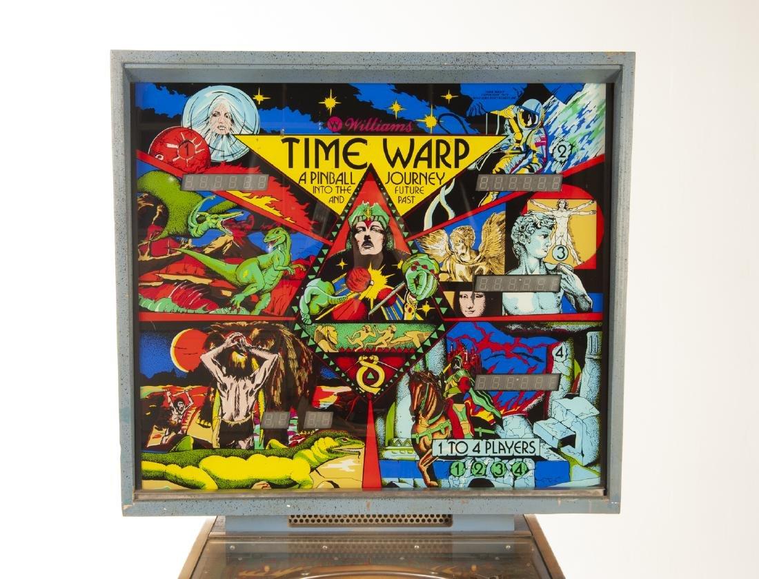 Williams Time Warp Pinball Machine - 7
