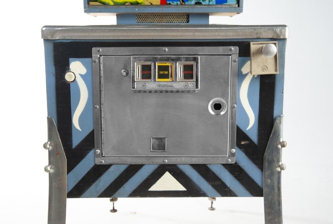 Williams Time Warp Pinball Machine - 9
