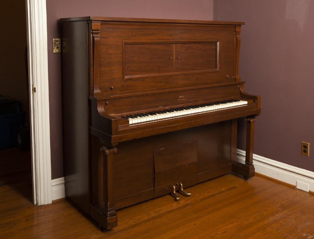 Weber Duo Art Pianola Player Piano