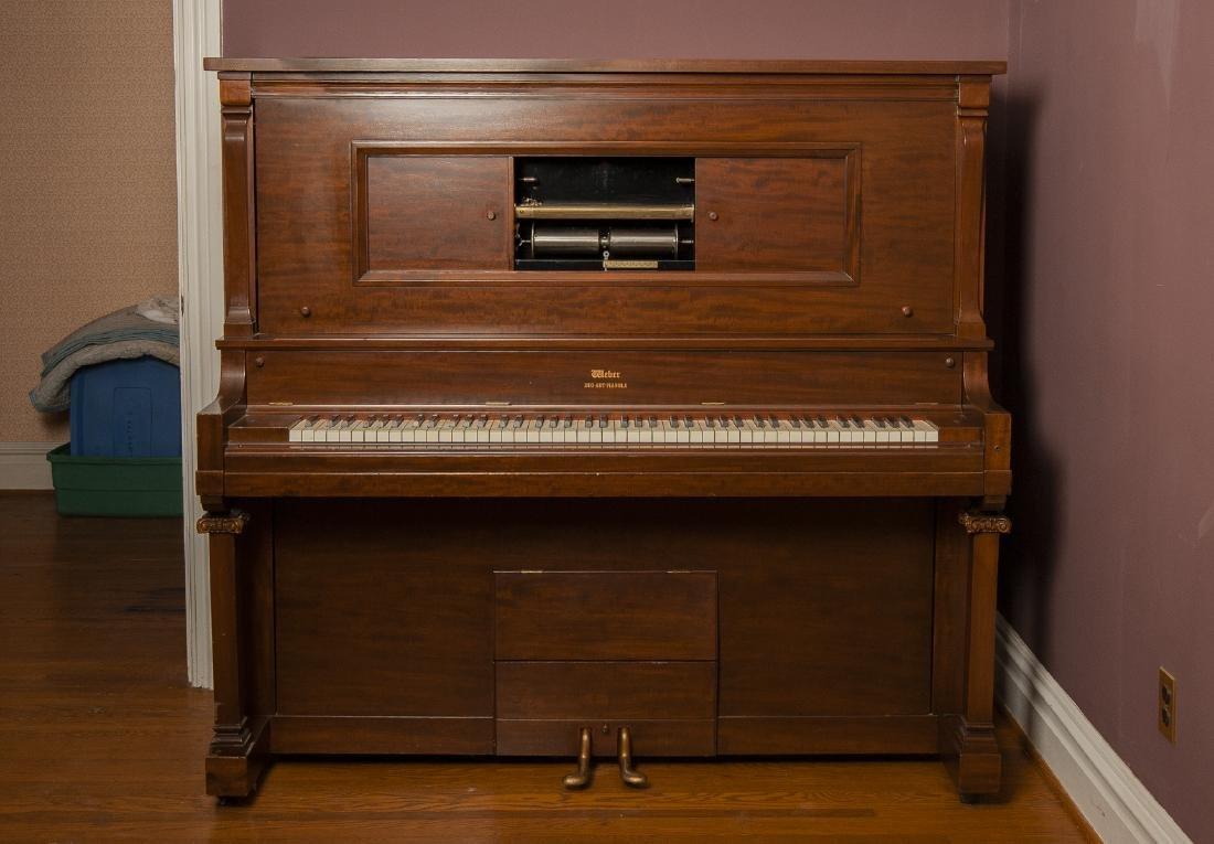 Weber Duo Art Pianola Player Piano - 2