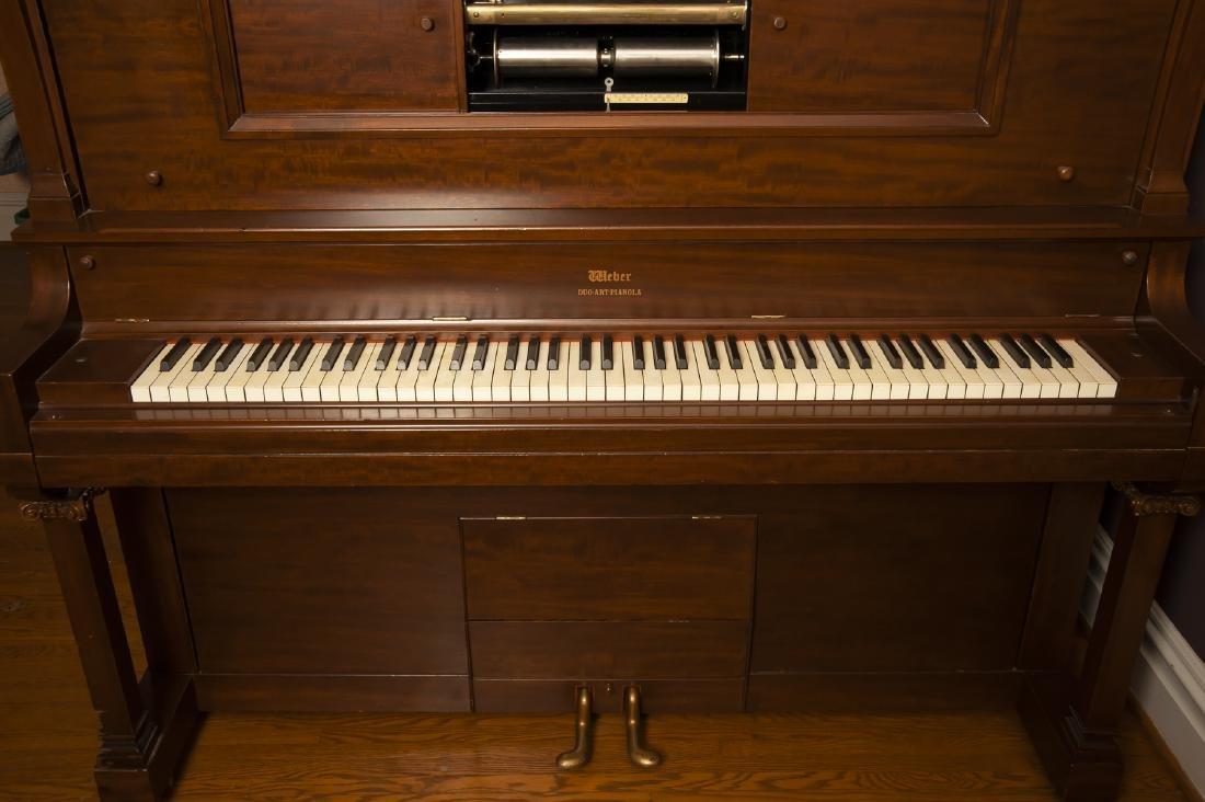 Weber Duo Art Pianola Player Piano - 3