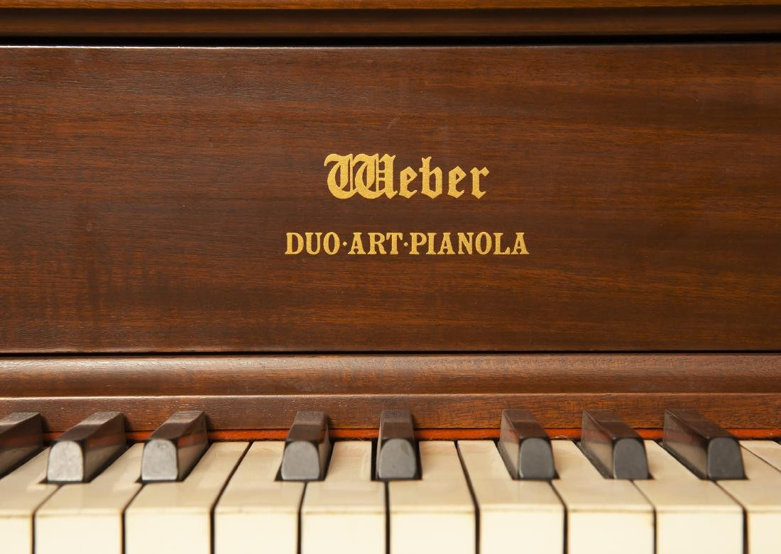 Weber Duo Art Pianola Player Piano - 4