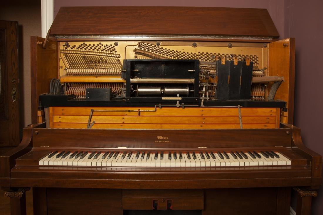 Weber Duo Art Pianola Player Piano - 9
