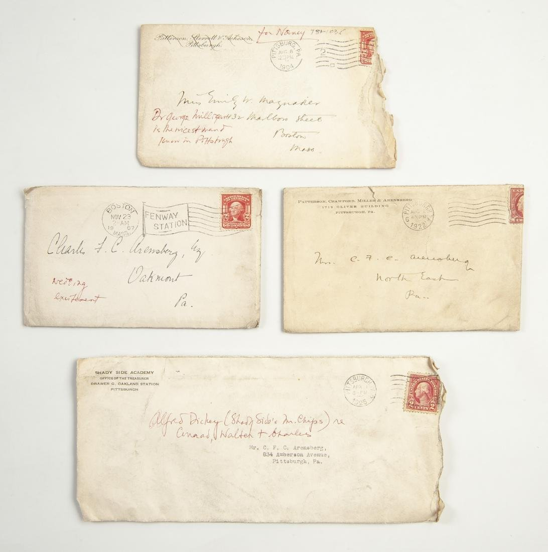 Archive of Letters of Charles F.C. Arensberg - 3