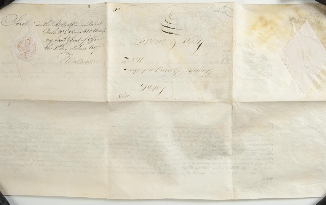 Thomas McKean and Timothy Matlack Signed Document - 2