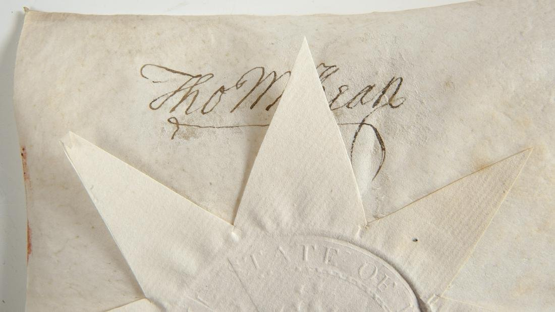 Thomas McKean and Timothy Matlack Signed Document - 3
