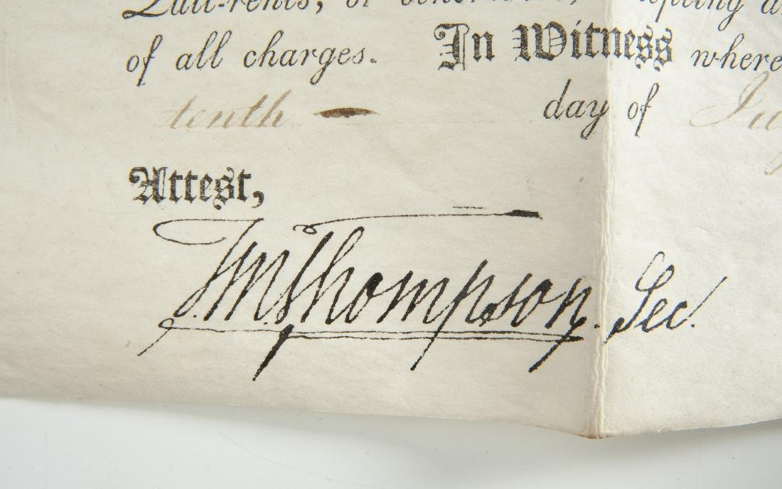 Thomas McKean and Timothy Matlack Signed Document - 4