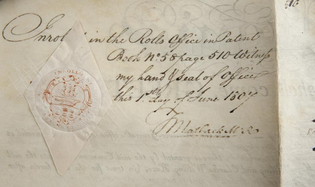 Thomas McKean and Timothy Matlack Signed Document - 5