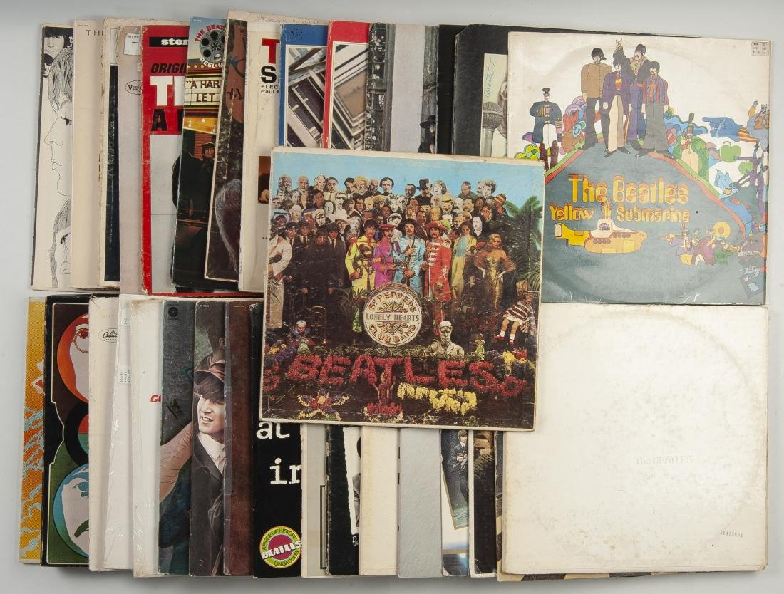 Collection of 35 Beatles' Albums