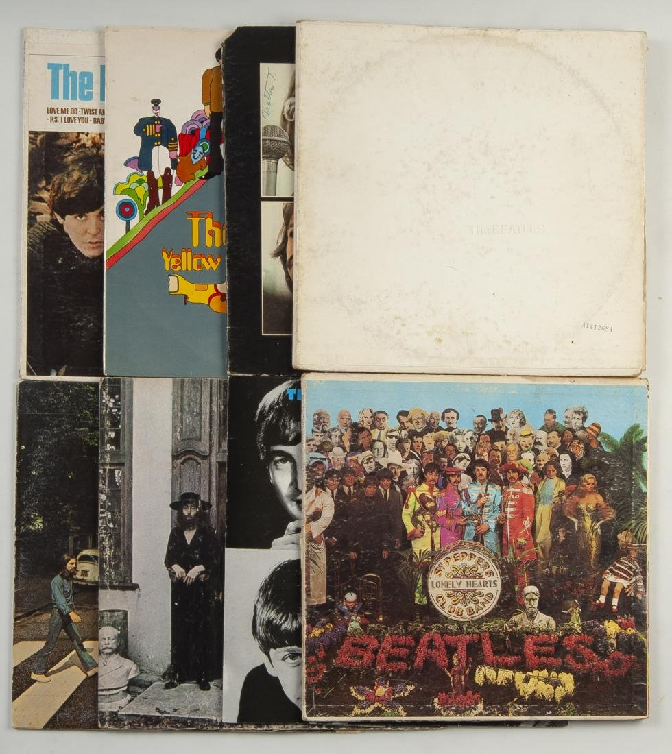 Collection of 35 Beatles' Albums - 2