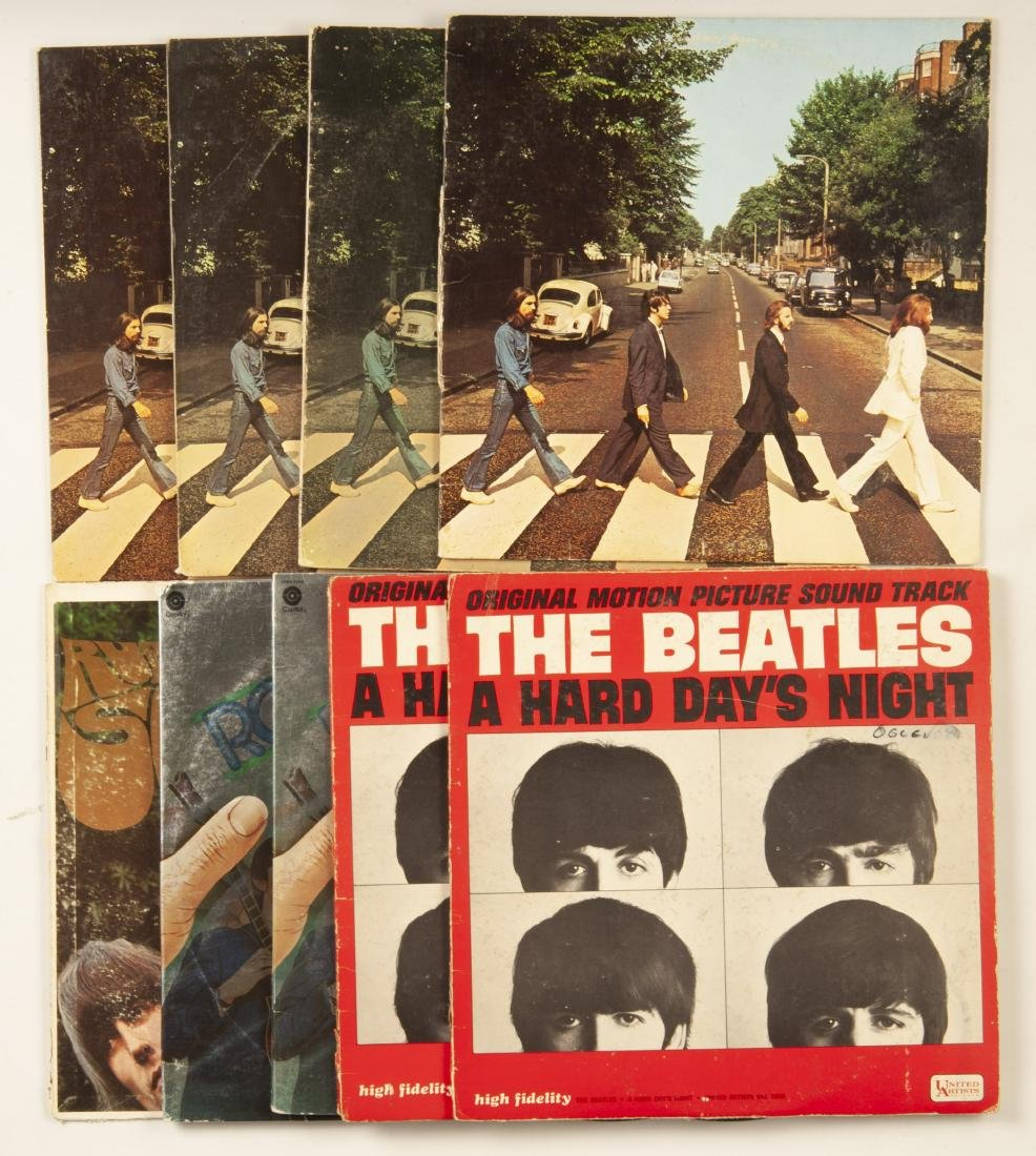 Group of 37 Beatles Albums - 2
