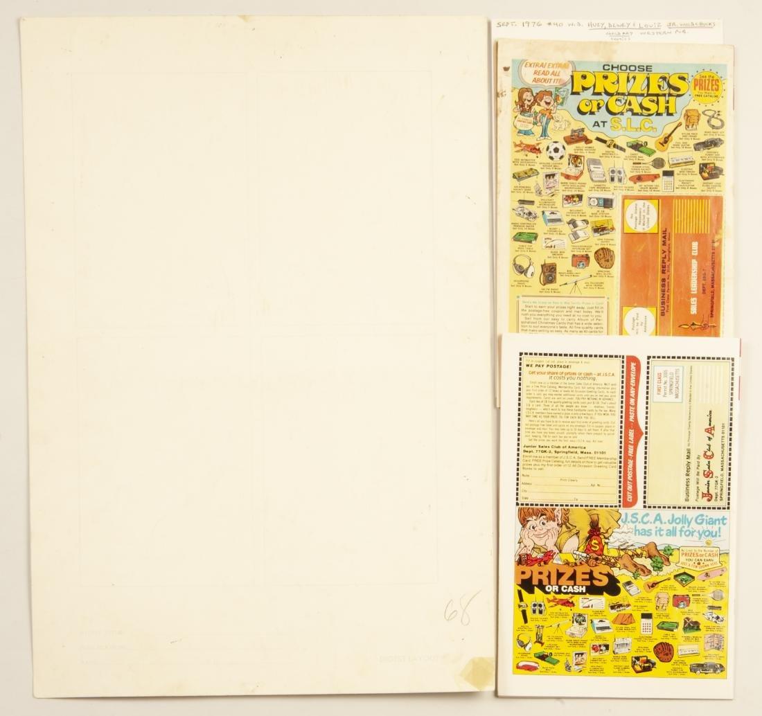 Huey, Dewey & Louie Comics & Orig Cover Art - 2