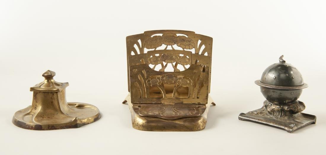 3 Brass Desk Accessories