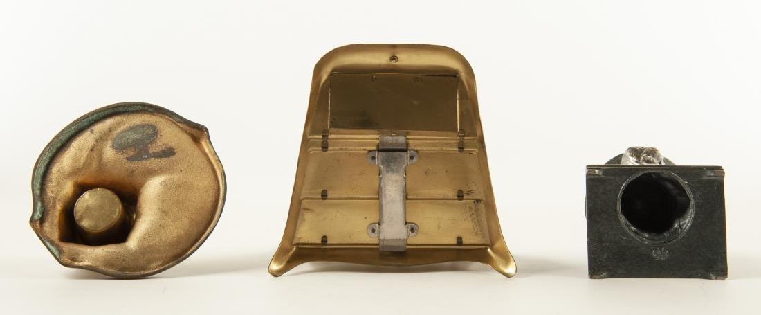 3 Brass Desk Accessories - 3