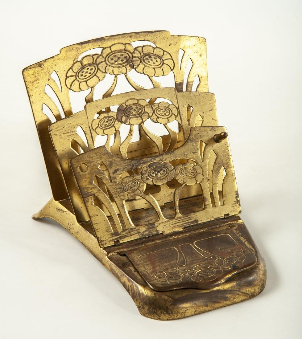 3 Brass Desk Accessories - 4