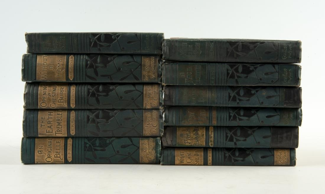 11 Vols. The Works of E. P. Roe, C. 1870-80s - 2