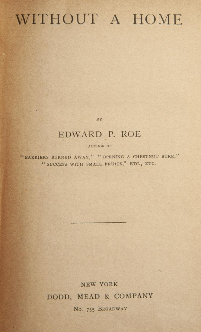 11 Vols. The Works of E. P. Roe, C. 1870-80s - 4