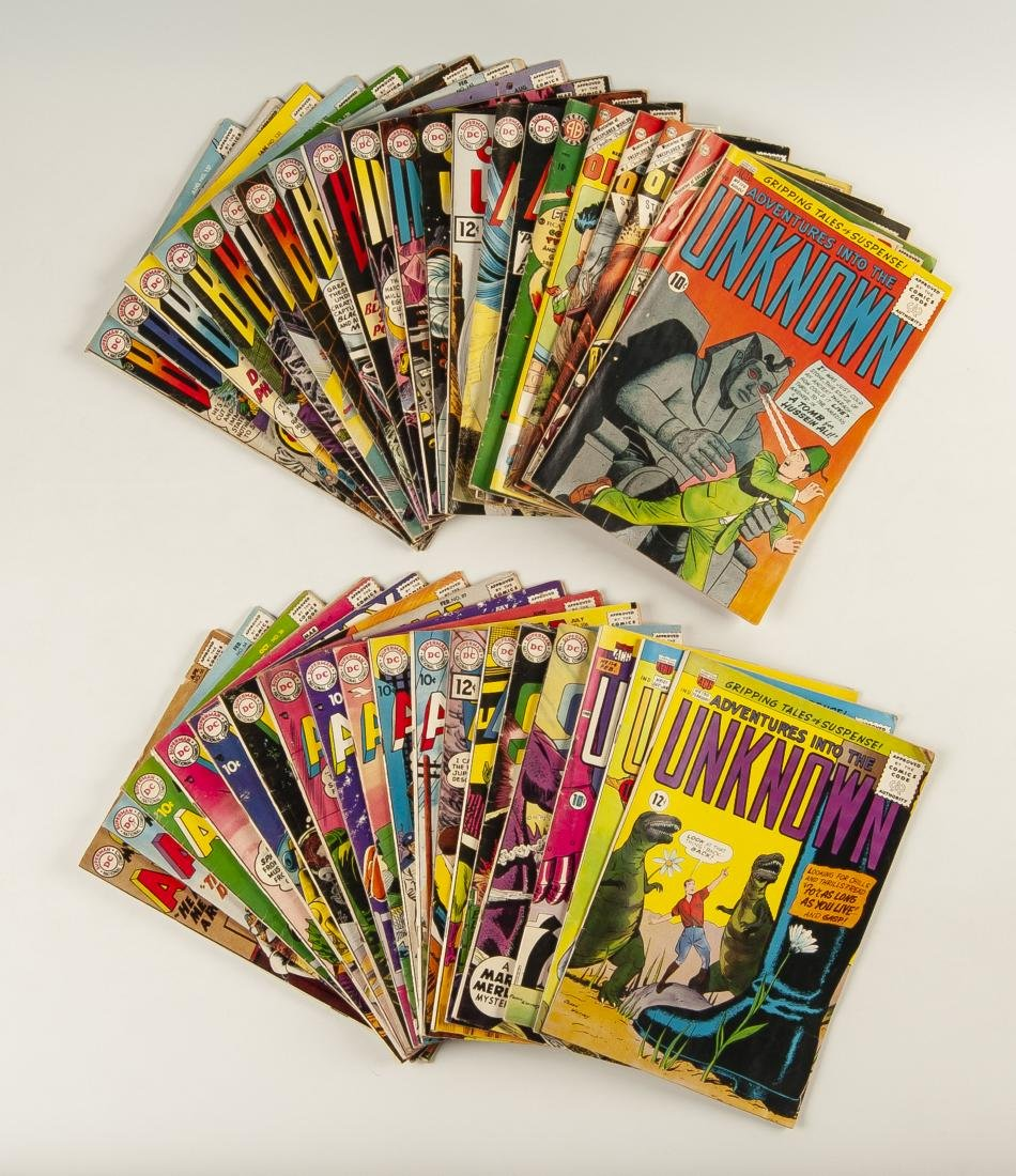 39 Various Golden & Silver Age Comics