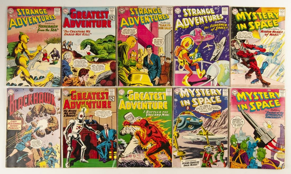 39 Various Golden & Silver Age Comics - 6