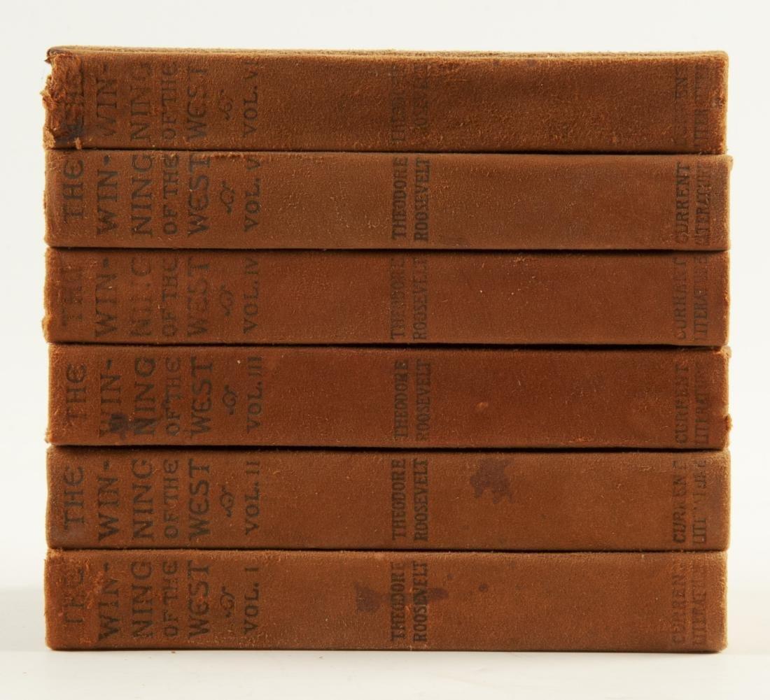 7 Vols. Theodore Roosevelt Winning of the West - 2