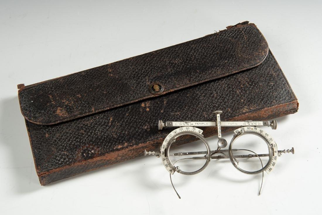 Optician's Glasses & Refractive Lens Set