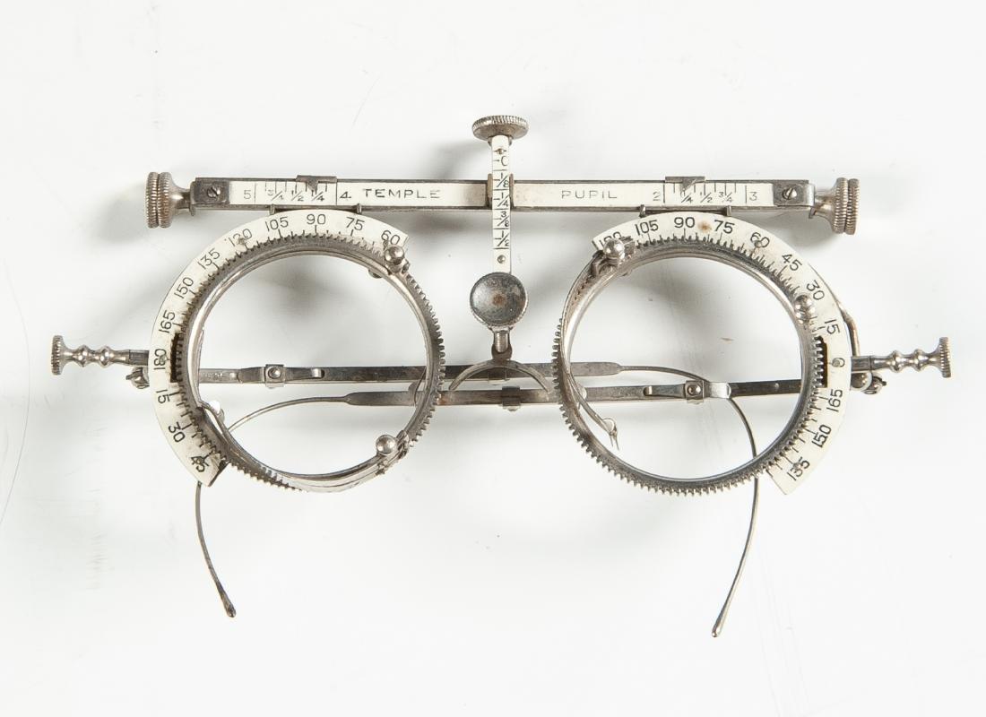 Optician's Glasses & Refractive Lens Set - 2
