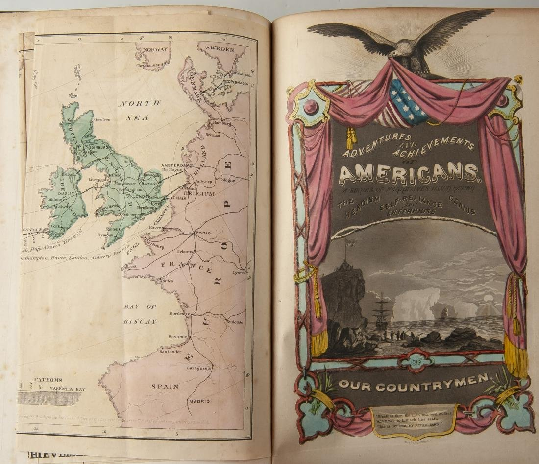 2 19th Century Books on American Conditions - 3