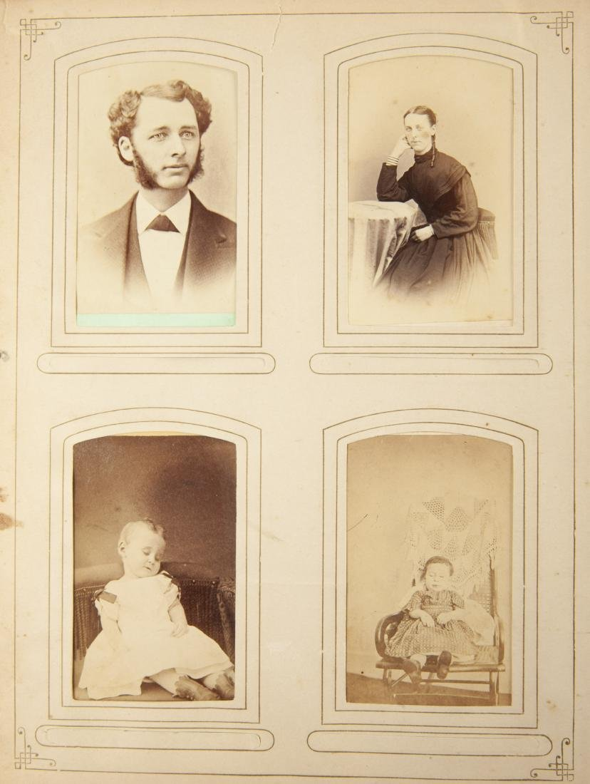 Victorian Album of Images Incl Baby Post Mortems
