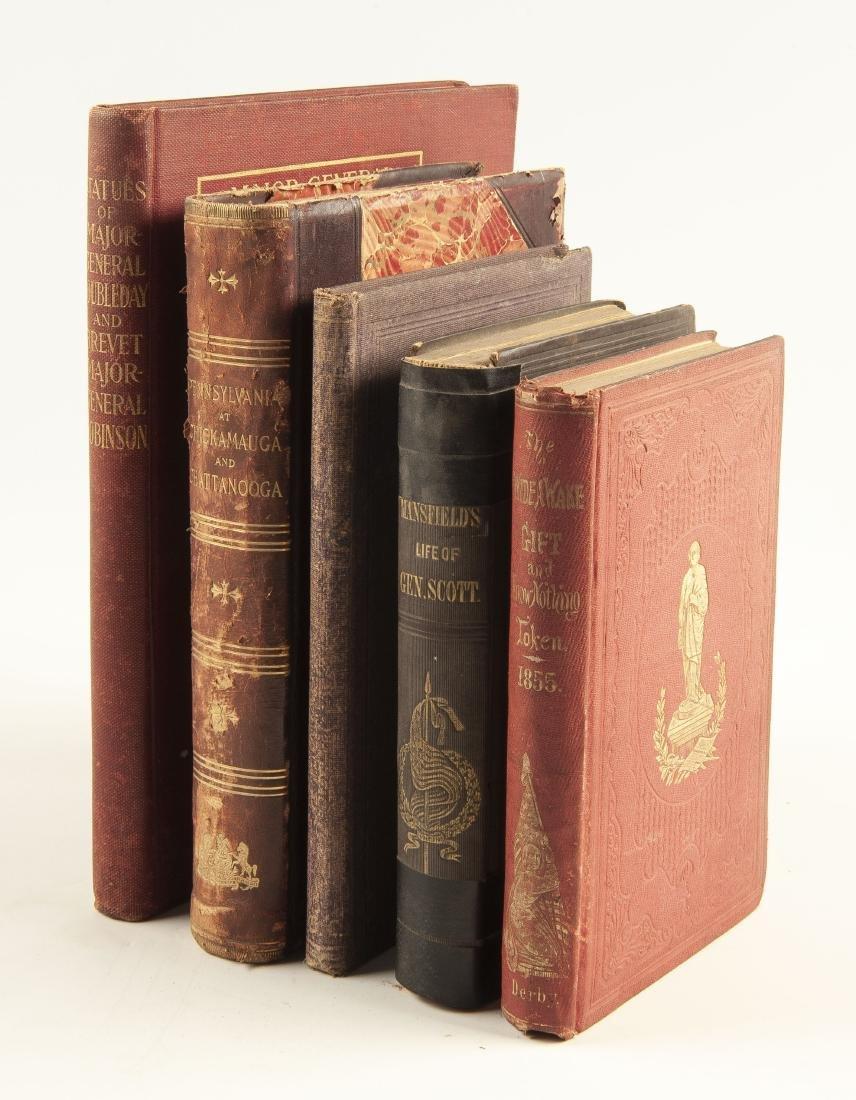 5 19th Century Civil War Books