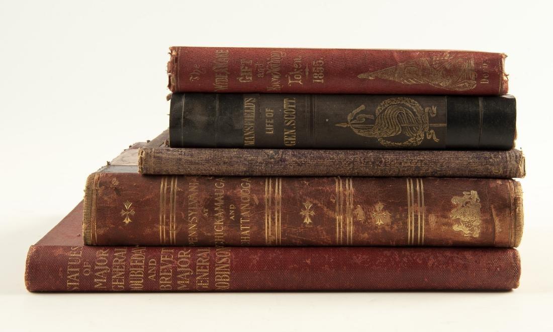 5 19th Century Civil War Books - 2