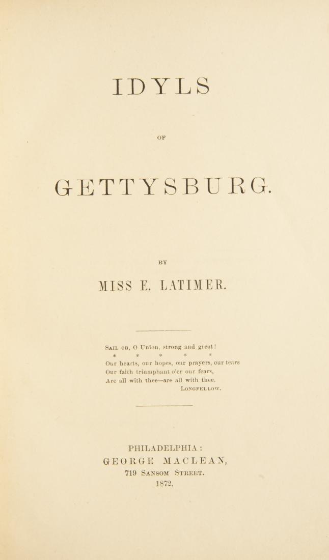 5 19th Century Civil War Books - 5