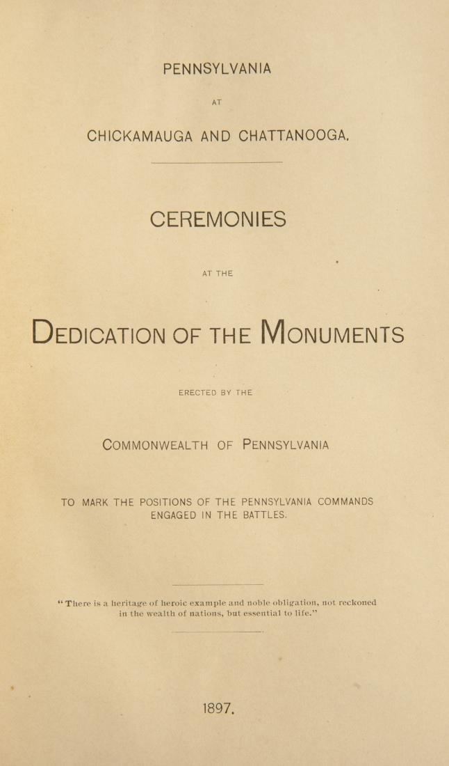 5 19th Century Civil War Books - 6