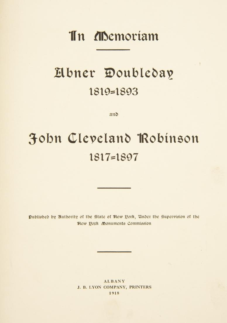 5 19th Century Civil War Books - 8