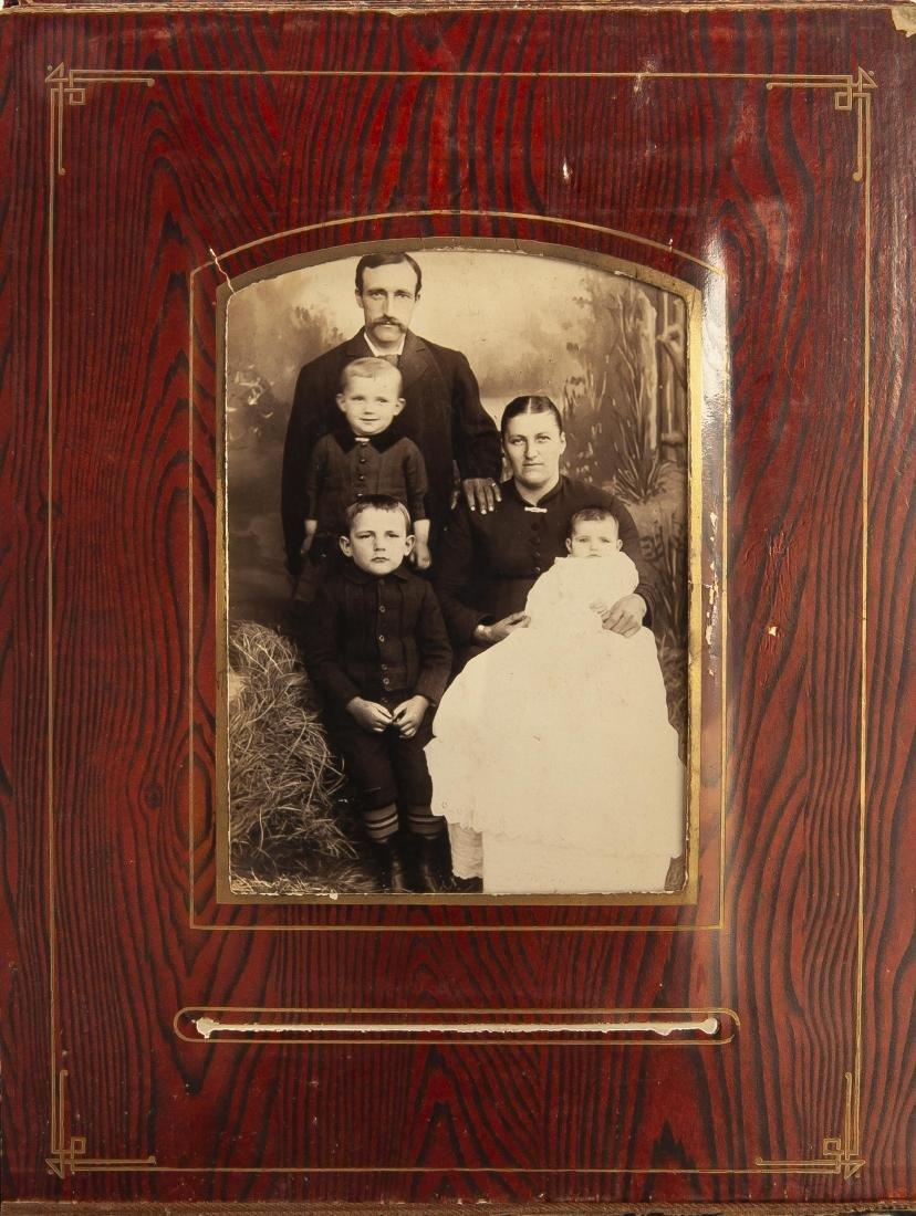 Victorian Album of Images Incl Babies & Children