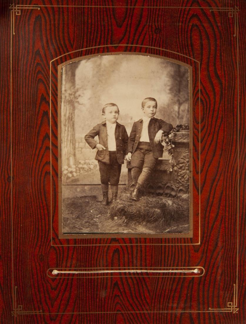 Victorian Album of Images Incl Babies & Children - 7