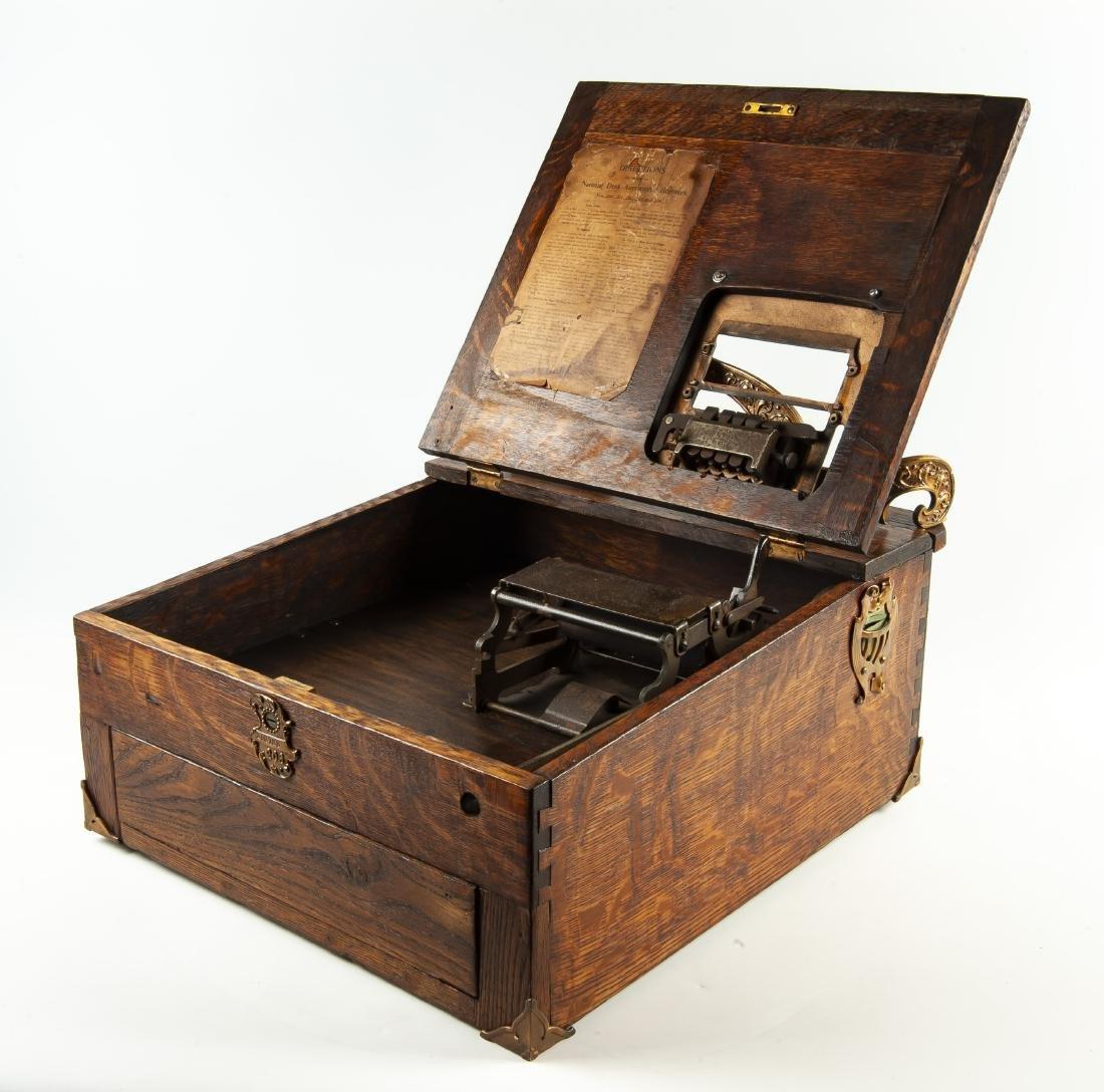 National Desk Autographic Register - 2