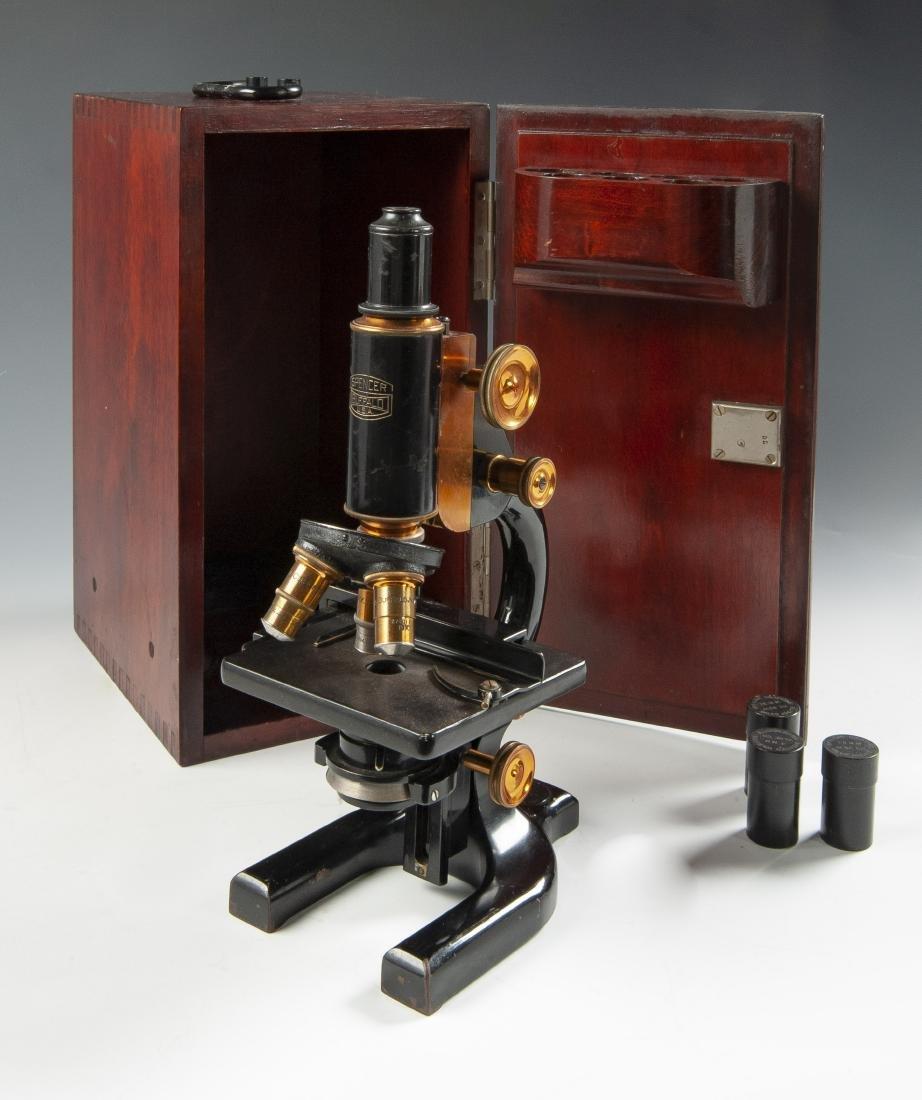 Cased Microscope