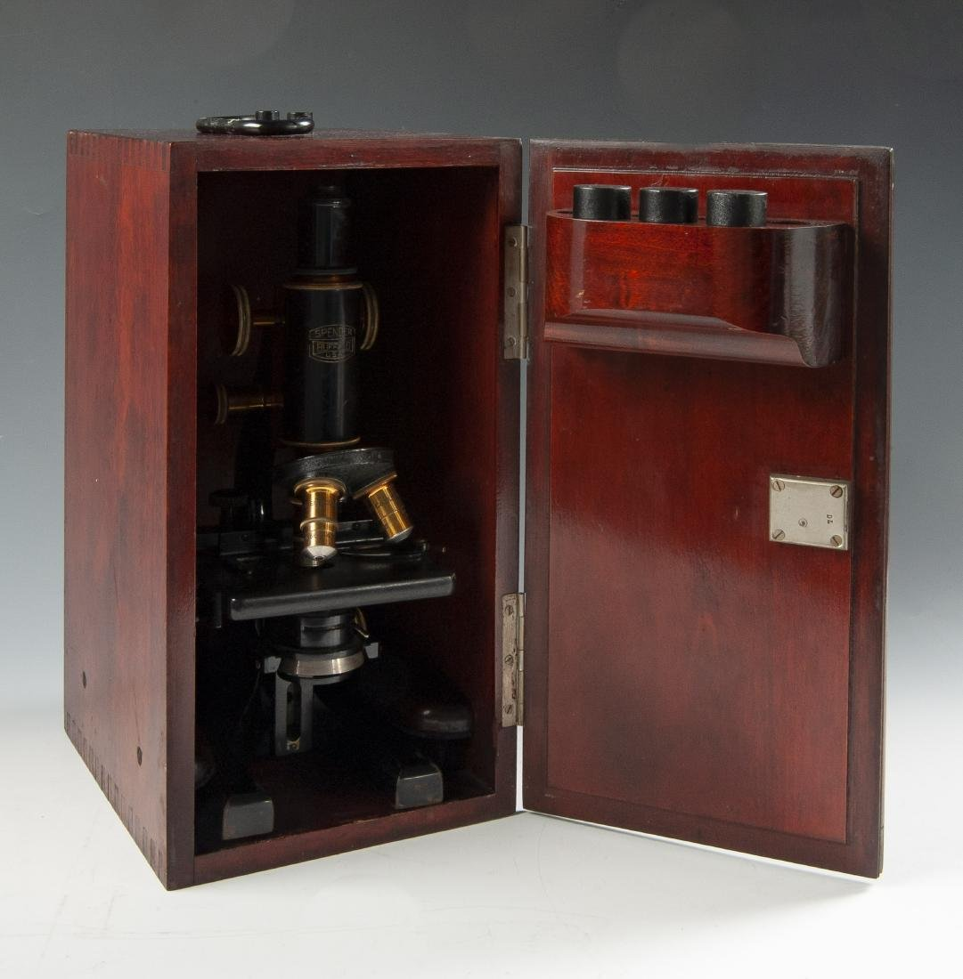 Cased Microscope - 2