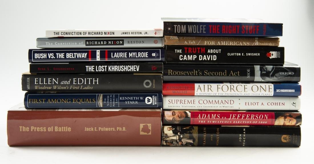 15 Signed Political Books