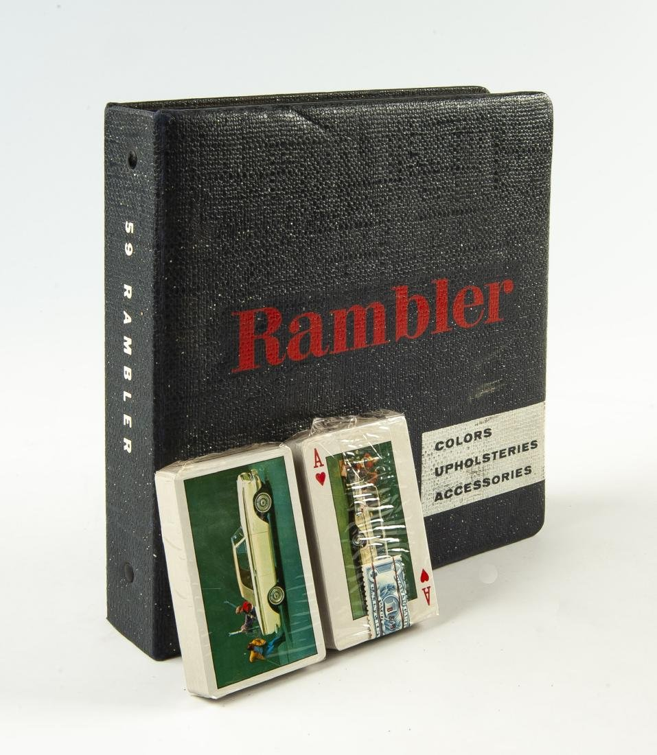 2 Rambler Automotive Themed Items