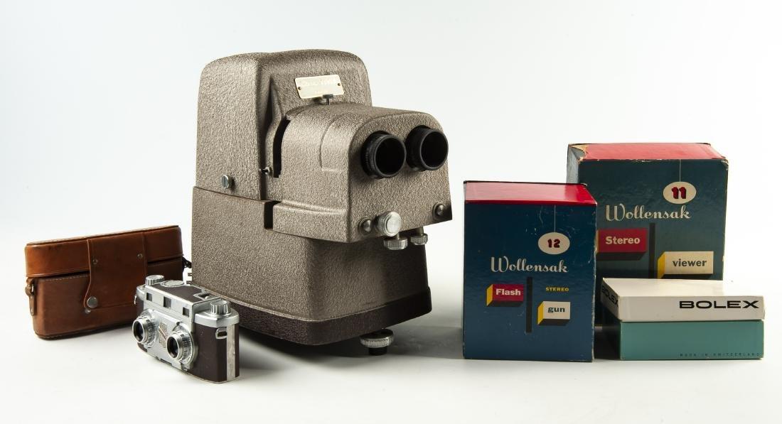 6 Pcs Photo Equipment Incl Revere Stereo