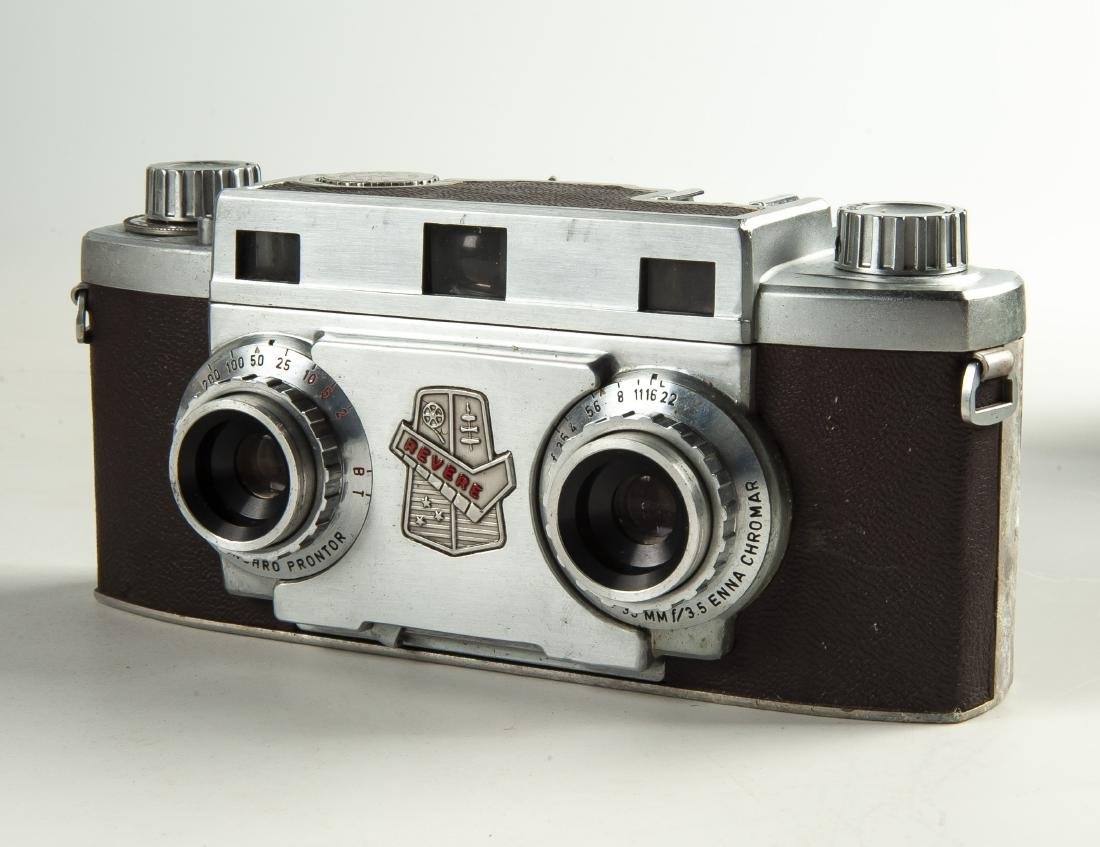 6 Pcs Photo Equipment Incl Revere Stereo - 3