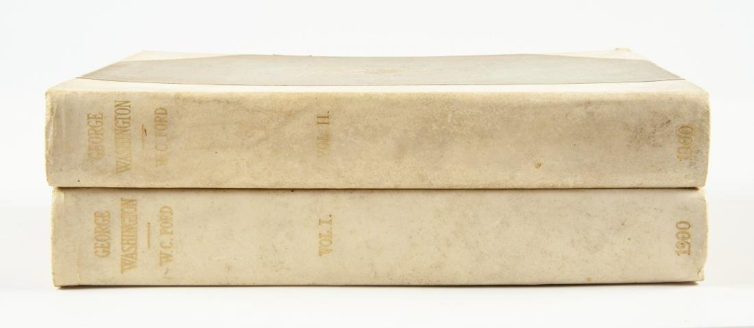 2 Vols. George Washington by W.C. Ford, 1900 - 2