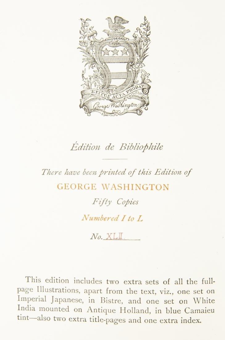 2 Vols. George Washington by W.C. Ford, 1900 - 5