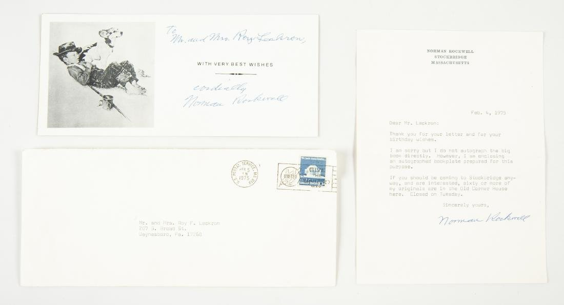 2 Norman Rockwell Signatures